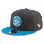 Detroit Lions New Era 2019 Official Home Sideline 1933-53 9FIFTY Snapback Cap