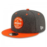 Cleveland Browns New Era 2019 Official Home Sideline 1933-53 9FIFTY Snapback Cap
