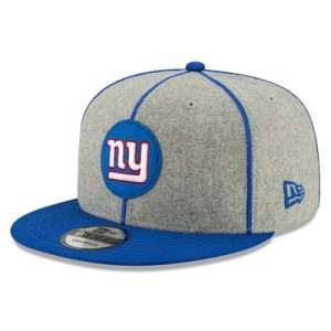 New York Giants New Era 2019 Official Home Sideline 1920-25 9FIFTY Snapback Cap