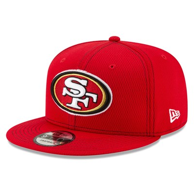 San Francisco 49ers New Era 2019 Official Road Sideline 9FIFTY Snapback Cap
