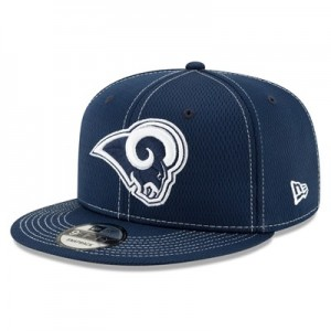 Los Angeles Rams New Era 2019 Official Road Sideline 9FIFTY Snapback Cap