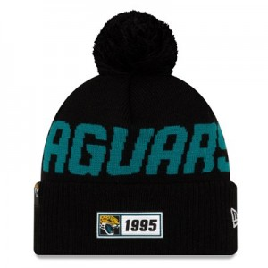 Jacksonville Jaguars New Era 2019 Official Cold Weather Road Knit