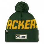 Green Bay Packers New Era 2019 Official Cold Weather Road Knit