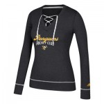 Pittsburgh Penguins adidas Skate Lace Top - Womens