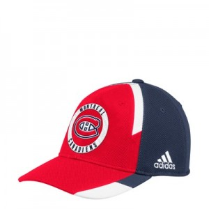 Montreal Canadiens adidas Practice Fitted Cap