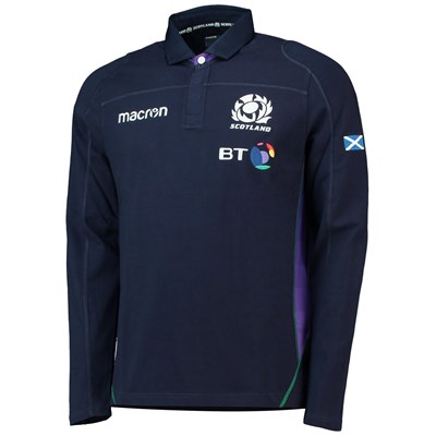 Scotland Rugby Home Cotton Replica Jersey 2018-19 - Mens - LS