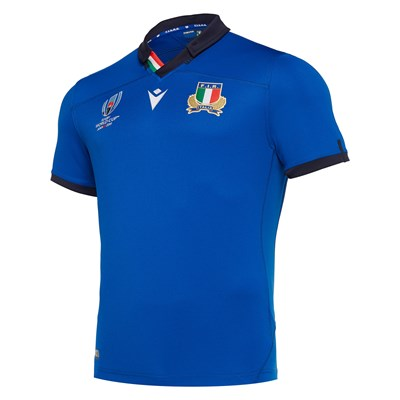 Italy Rugby World Cup Home Shirt - Kids