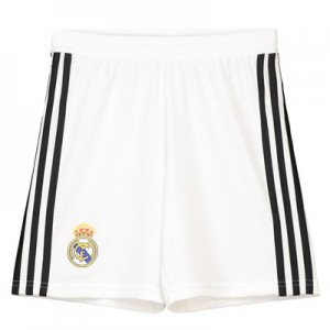 Real Madrid Home Shorts 2018-19 - Kids