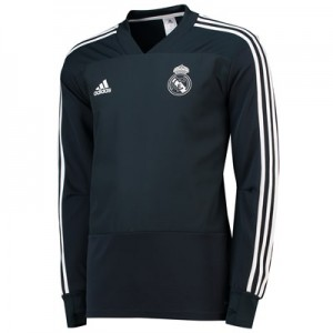 Real Madrid Training Top - Dark Grey