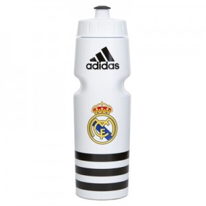 Real Madrid Water Bottle - White