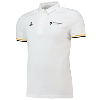 Renault F1 Team Fanwear Polo- White