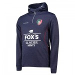 Leicester Tigers Performance Hoodie - Navy - Mens