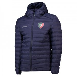 Leicester Tigers Down Jacket - Navy - Mens