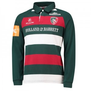 Leicester Tigers Home Classic Jersey Long Sleeve 2018/19 - Junior