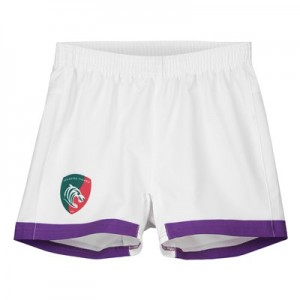 Leicester Tigers Alternate Replica Short 2018/19 - White- Junior