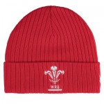 Welsh Rugby Supporter Beanie - Red