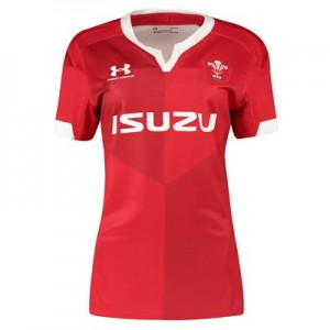 Welsh Rugby Replica Home Shirt - Womens
